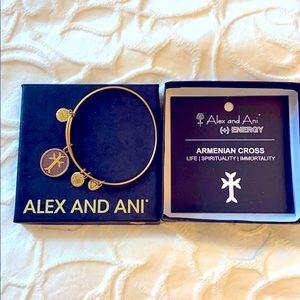Alex & Ani Armenian Cross Bracelet